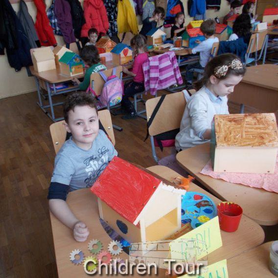 Atelier de construit casute