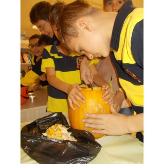 Excursie de Halloween la Ferma Copiilor Sabareni