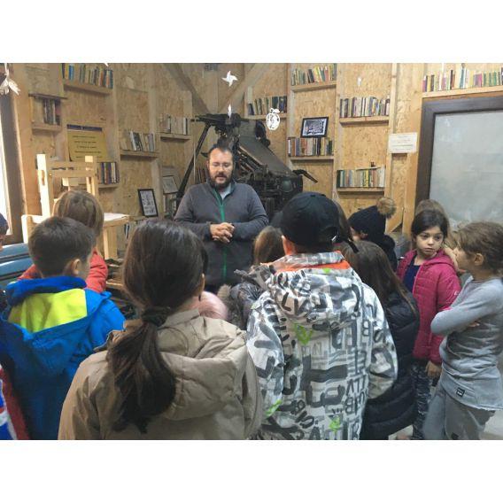 Excursie la Comana si Atelier la Moara de Hartie